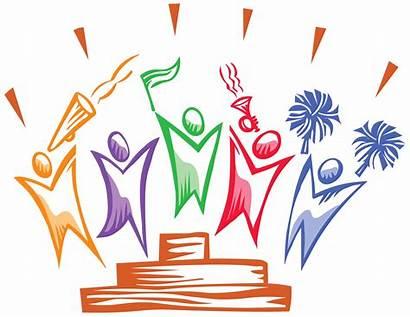 Celebration Celebrate Team Clipart Clip Students