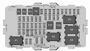 Buick Regal  2018  - Fuse Box Diagram
