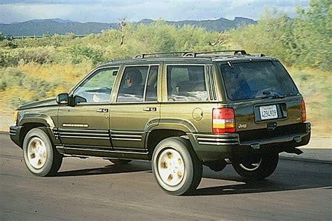 98 Jeep Grand 1993 98 jeep grand consumer guide auto