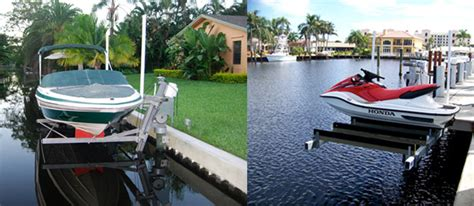 Neptune Boat Lifts Fort Lauderdale by Boat Lifts South Florida Dock And Seawall