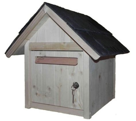 d 233 coration une boite aux lettres originale en bois