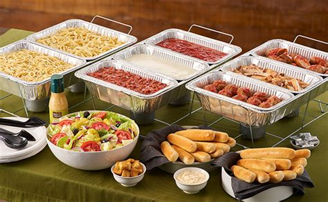 does olive garden serve create your own pasta station lunch dinner menu