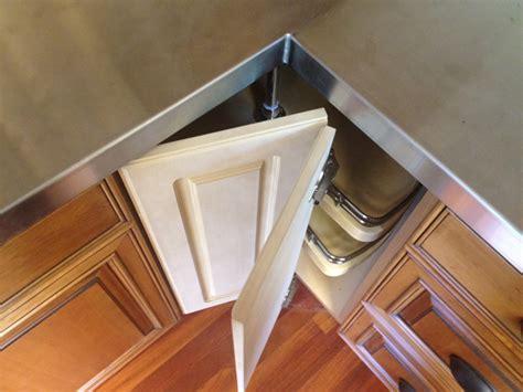 attach lazy susan bi fold doors