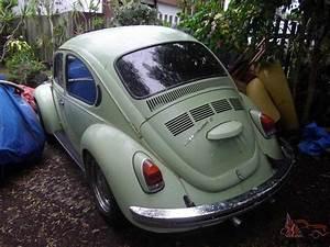 Vw 1971 Volkswagen Super Beetle S 1600 Twin Port Engine In