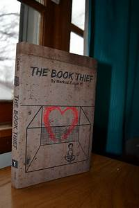 The Book Thief book cover on Behance