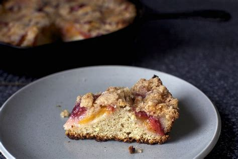 I was provided with free product from diamond nuts in exchange for this whether for breakfast or as a dessert or snack, this buttermilk coffee cake will make your taste i knew better from our kitchen remodel a few years back. nectarine brown butter buckle   Dessert recipes, Brown butter, Food recipes