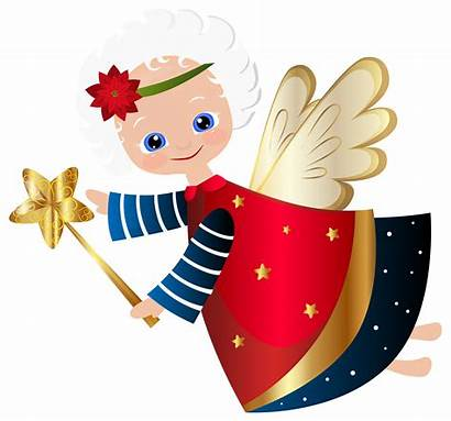 Angel Transparent Christmas Clipart Clip Clothespin Angels