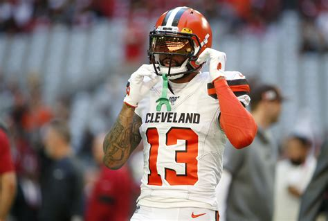 obj leave cleveland browns star