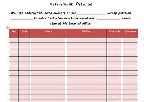 petition template 30 petition templates how to write petition guide