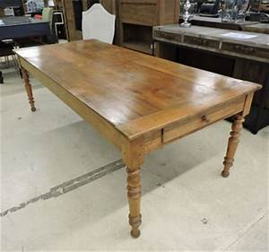 Table Ancienne De Ferme : table de ferme ancienne noyer table de lit ~ Dode.kayakingforconservation.com Idées de Décoration