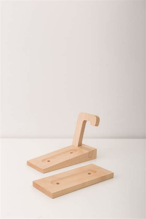 tokyo bike rack wall mount wooden wall hook bike storage vertical bike holder natural