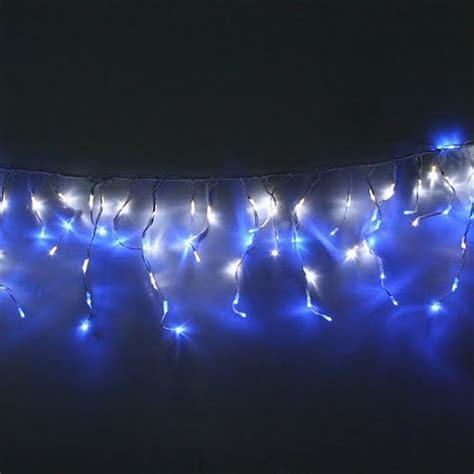 blue outdoor christmas lights impressive look of blue and white outdoor christmas lights