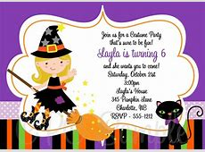 8 Best Images of Halloween Party Printable Birthday