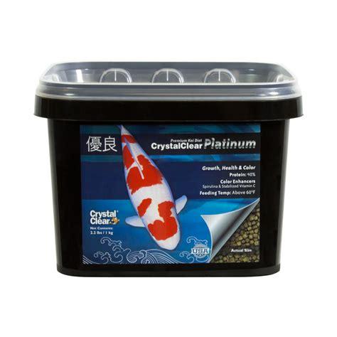 cuisine standard crystalclear platinum standard pellet fish food fish