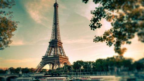 Eiffel Tower Clouds Paris Wallpapers Hd Desktop And