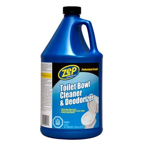 zep commercial acidic toilet bowl cleaner 3 78 l home