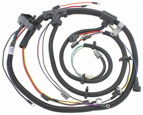 1972 Monte Carlo Wiring Harnes by M H 1972 Monte Carlo Engine Harness V8 Hei With Warning