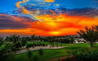 Desktop Golf Sunset Tennis Heights Resort Backgrounds