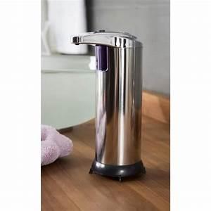 Distributeur De Savon Mural Automatique : ce distributeur de savon automatique en acier inoxydable ~ Edinachiropracticcenter.com Idées de Décoration
