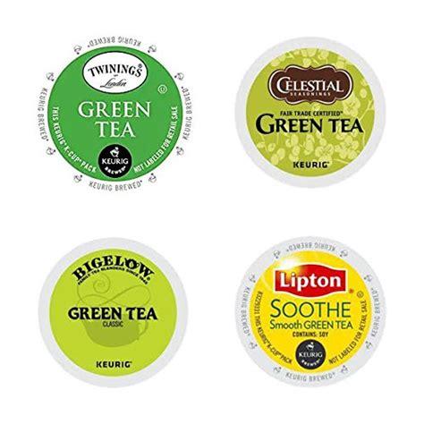20 Count  Top Brand Green Tea Variety Kcups For Keurig K