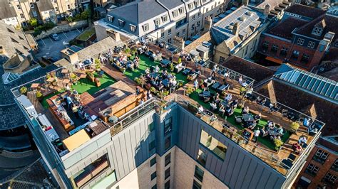 cambridge restaurant  roof terrace