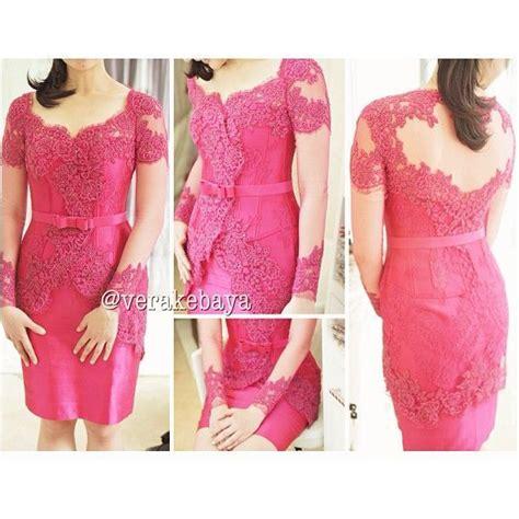 Modiste Kebaya Pink pink modern kebaya can be used for