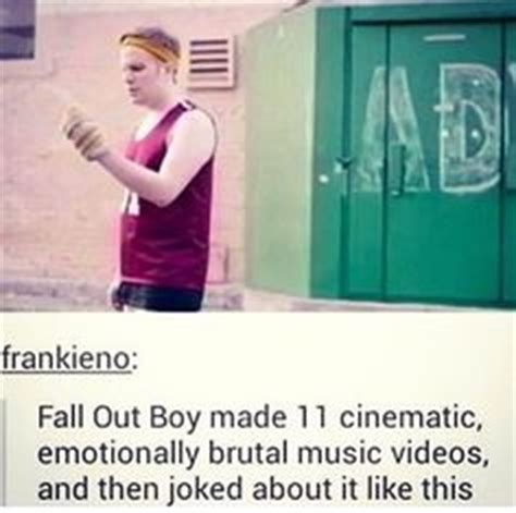 Fall Out Boy Memes - quot knock once for the father fob twice for the son p atd three times for the holy ghost mcr