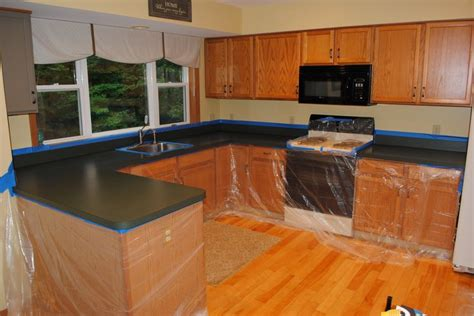 how to get rust a countertop how to use rustoleum s countertop transformation kit to