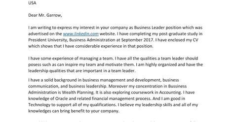 contoh cover letter resume  fresh graduate temukan