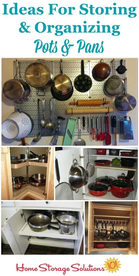 organizing pots and pans in a small kitchen organizing pots and pans ideas solutions kitchenware 9868