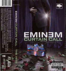 eminem curtain call the hits songs eminem curtain call the hits cassette at discogs