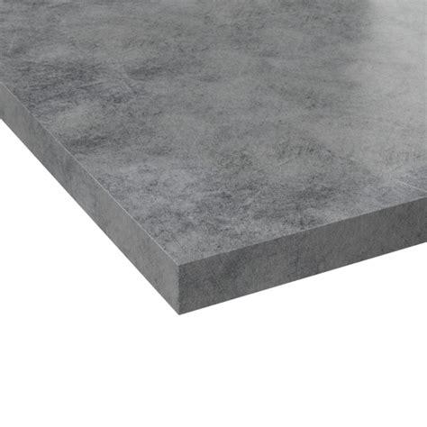 adhesif plan de travail plan de travail n 176 502 d 233 cor beton gris clair chant beton gris clair l205xl62xe3 8 planeko oskab