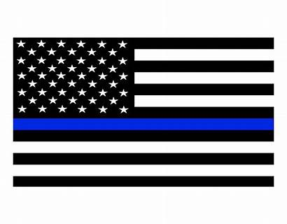 Flag Thin Line Decals Police Matter Lives