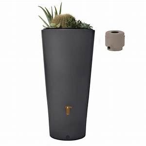 Bac Récupérateur D Eau De Pluie : collecteur r cup rateur d 39 eau 220l kit r servoir vaso 2 en ~ Premium-room.com Idées de Décoration