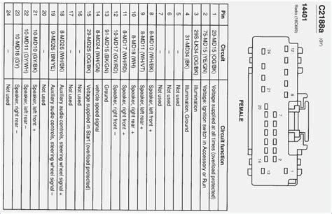 2012 ford focus radio wiring diagram vivresaville