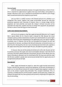 Demand And Supply Essay Essay Writing Procedure Microeconomics  Demand And Supply Essay Questions And Answers A Small Place Essay Persuasive Essays Examples For High School also Diwali Essay In English  Thesis Statements For Persuasive Essays