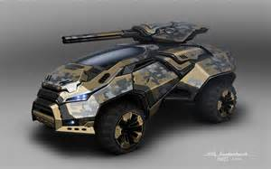 Military Vehicles Concept Art