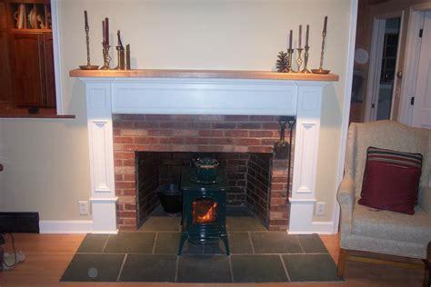 Brick Laminate Picture Brick Fireplace Surrounds