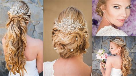 hair wedding style classic bridal hair styles tutorial 8362