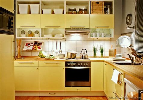 kitchens   colors red yellow white blue