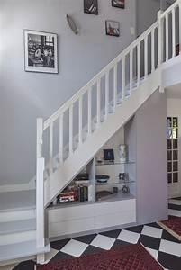 Aménagement Sous Escalier : 25 best bannister ideas on pinterest banisters banister ideas and staircase remodel ~ Preciouscoupons.com Idées de Décoration
