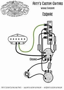 Esquire Wiring Diagram Prewired Kit Arty U0026 39 S Custom Guitars