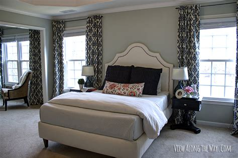 Master Bedroom Drapery Ideas by Spice Up A Bedroom With Diy Lined Black Tab Curtains Step