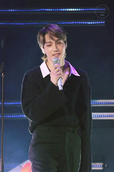 exo showcase 181102 kai exo comeback showcase quot tempo quot kai exo in