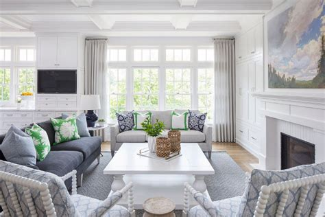 hamptons inspired home  coastal colors home bunch