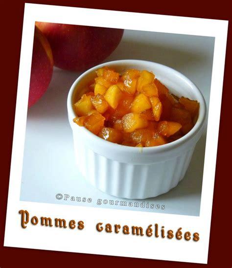 pommes caram 233 lis 233 es recette de base pause gourmandises