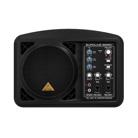 behringer b205d active monitor speaker