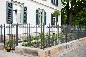Gartenzaun Aus Metall : gartenzaun aus schmiedeeisen eleo ~ Orissabook.com Haus und Dekorationen