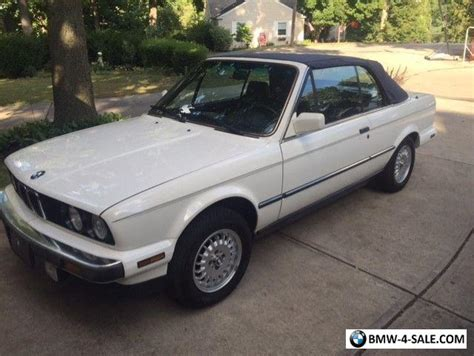 Bmw Convertible 3 Series by 1988 Bmw 3 Series Convertible For Sale In United States