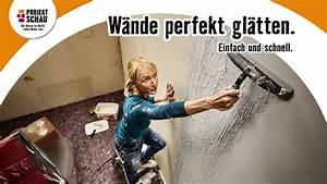 Wände Glätten Mit Rotband : hornbach projektschau september 2016 w nde gl tten youtube ~ Frokenaadalensverden.com Haus und Dekorationen